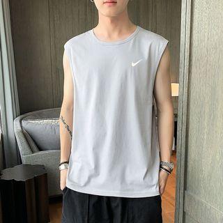 Nike vest Men's Round neck Breathable cool Sleeveless T-shirt
