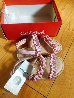 Original Cat and Jack Sandals  Size 7 from US. Outgrown by my baby girl. Brand new.  2-4 years old.