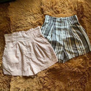 Overruns H&M linen shorts bundle