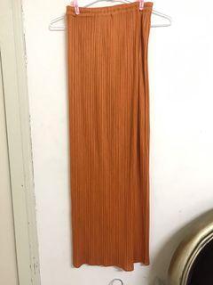 三宅一生pp長裙,長褲