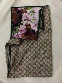 scarf wanita / motif gucci / pashmina
