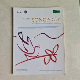 The ABRSM SONGBOOK Book 1 with CD