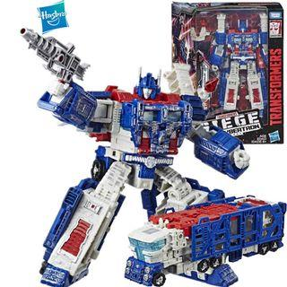 Transformers War for Cybertron Siege Sentinel Prime leader class