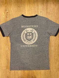 Uniqlo UT怪獸大學學院風t-shirt (二手)