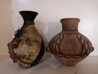 Vintage 2pcs Vase Small