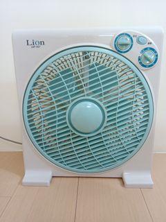 獅子心12吋定時箱扇 電風扇