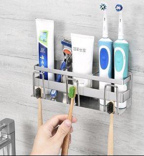 不鏽鋼牙刷架&不鏽鋼角落架