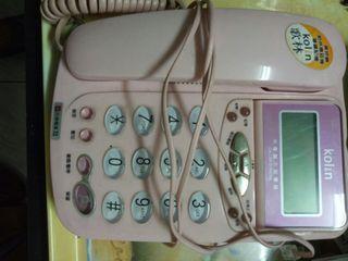 歌林來點顯示型有線電話