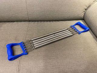 五段彈簧擴胸訓練器/拉力彈簧/健身