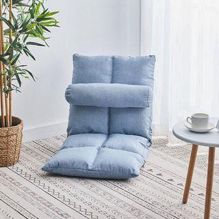 免運~單人小沙發 床上榻榻米 坐墊單人 日式靠背椅免運