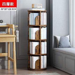 免運~四層多層收納旋轉書架  書櫃  置物架  收納架  可360°旋轉