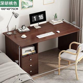 免運~北歐慕尼可書桌 電腦桌 北歐簡約  大容量 辦公桌 學生桌 長桌 書桌 電腦桌