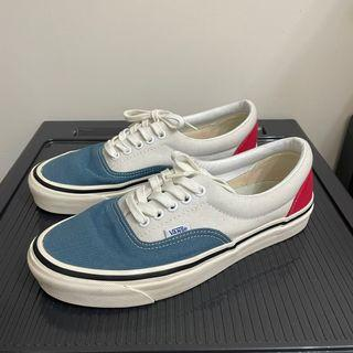 絕版 vans era style 95 經典配色 藍 白 紅 US7 25cm