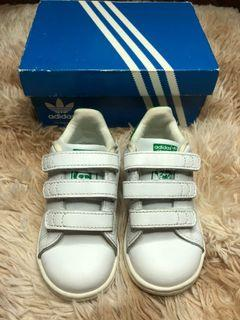 🔥FREE SF🔥Adidas Stan Smith US6.5 kids/toddler with box