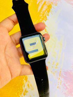 EX IBOX Apple Watch series 3 42mm Hitam iwatch space gray