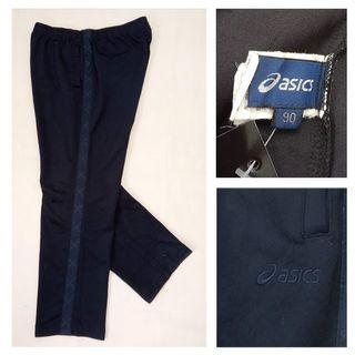 ASICS CO131 Trackpant Celana Training Panjang Seken Ori Olahraga Sport Hitam