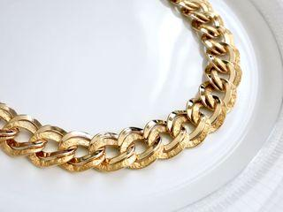 """AUTHENTIC GIVENCHY 1980's CHUNKY NECKLACE 
