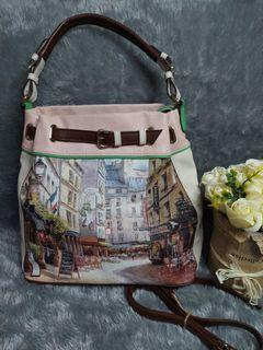 Authentic les catino bag soft pink