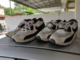 Combo Couple Pair Airmax 90 Panda 10uk & 6uk