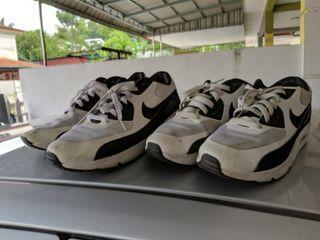 Combo Couple Pair Airmax 90 Panda 6uk & 11uk