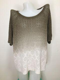 crochet/knitted top