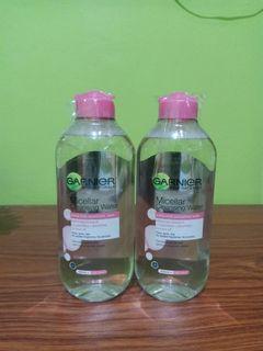 Garnier micellar water pink 400ml