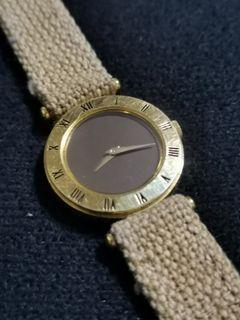 Gold watch from Japan
