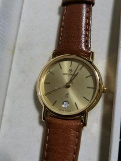 Grovana vintage watch