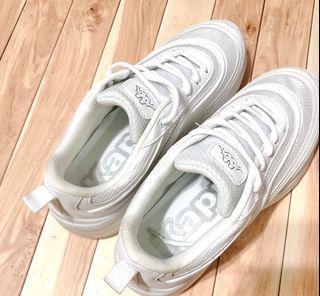 Kappa 白色運動鞋 尺寸24 子彈鞋