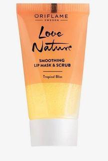 Lip Mask & Scrub Love Nature by Oriflame