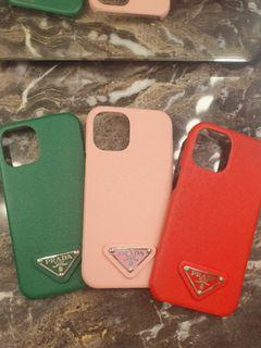 Luxury Brand IPhone 12 Pro Max  Green, Baby Pink, Red Case