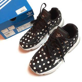 New Adidas Falcon Polkadot Women Shoes