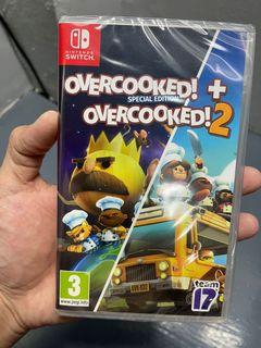 Overcooked (Special Ed.) & Overcooked 2 for Nintendo Switch