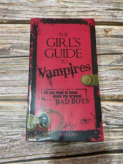 The Girl's Guide to Vampires book