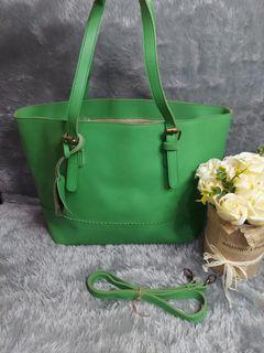 Tote bag fashion green
