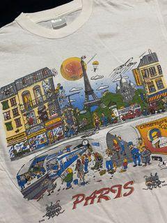 Vintage Paris tee