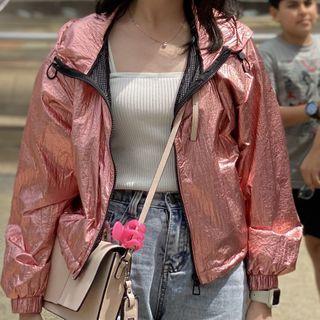 Y2K Pink Bershka Jacket