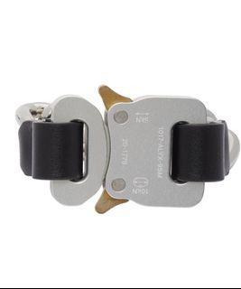 1017 ALYX 9SM 銀色插釦手鏈 手環