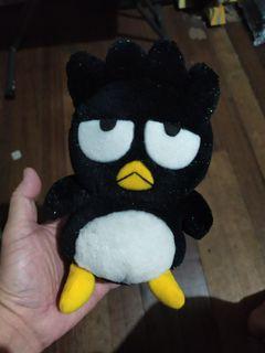 1998 Sanrio Badtz Maru Plush Toy  Glitter Plush Toy 1998