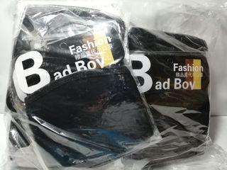 50 pcs. Cloth Adult Size Face Masks Plain Black