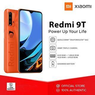 6gb + 128gb Xiaomi Redmi 9T 4g Global Version NTC with O.R. 1yr Local Warranty