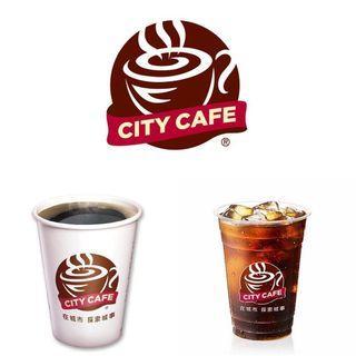 7-11 city cafe 中杯大杯特大杯美式(冰熱都可換