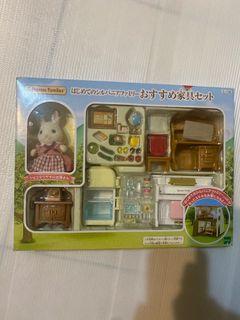 《森林家族-日版》兔媽媽家具豪華組