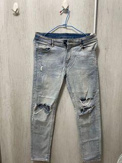 男牛仔褲 34