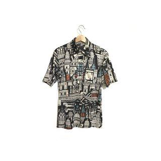 ·新裝裏百貨行· 70s King hoard 大尖領印花polo衫