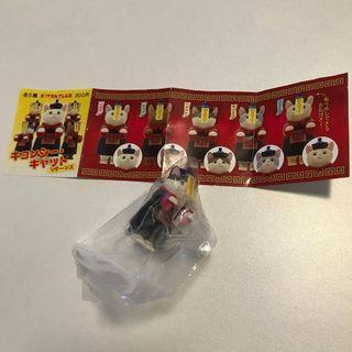 【包郵/順豐到付】 日本 動物 扭蛋 玩具 擺設 奇譚 Kitan Club 中國彊屍 彊屍貓 Zombie Cats 大粒墨貓