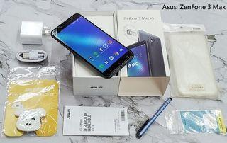 *典藏奇機*極新展示機-Asus 華碩 ZenFone 3 Max ZC553KL 5.5吋 32G 超電威力 銀灰