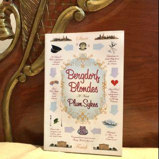 Bergdorf Blondes - BEST SELLER! By: Plum Sykes (Literature Young Adult Fiction)