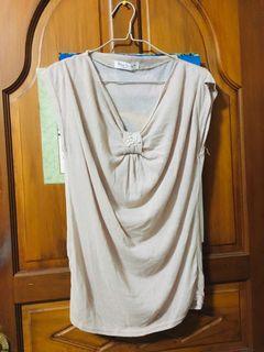 Blue Sador 時尚上衣 衣服 棉65%、聚脂纖維35%