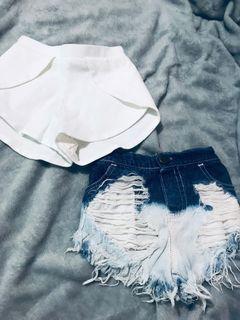 Bundle baby shorts 2t